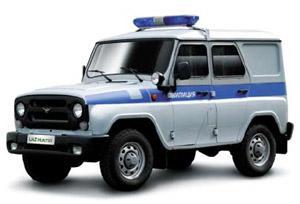УАЗ полицейский